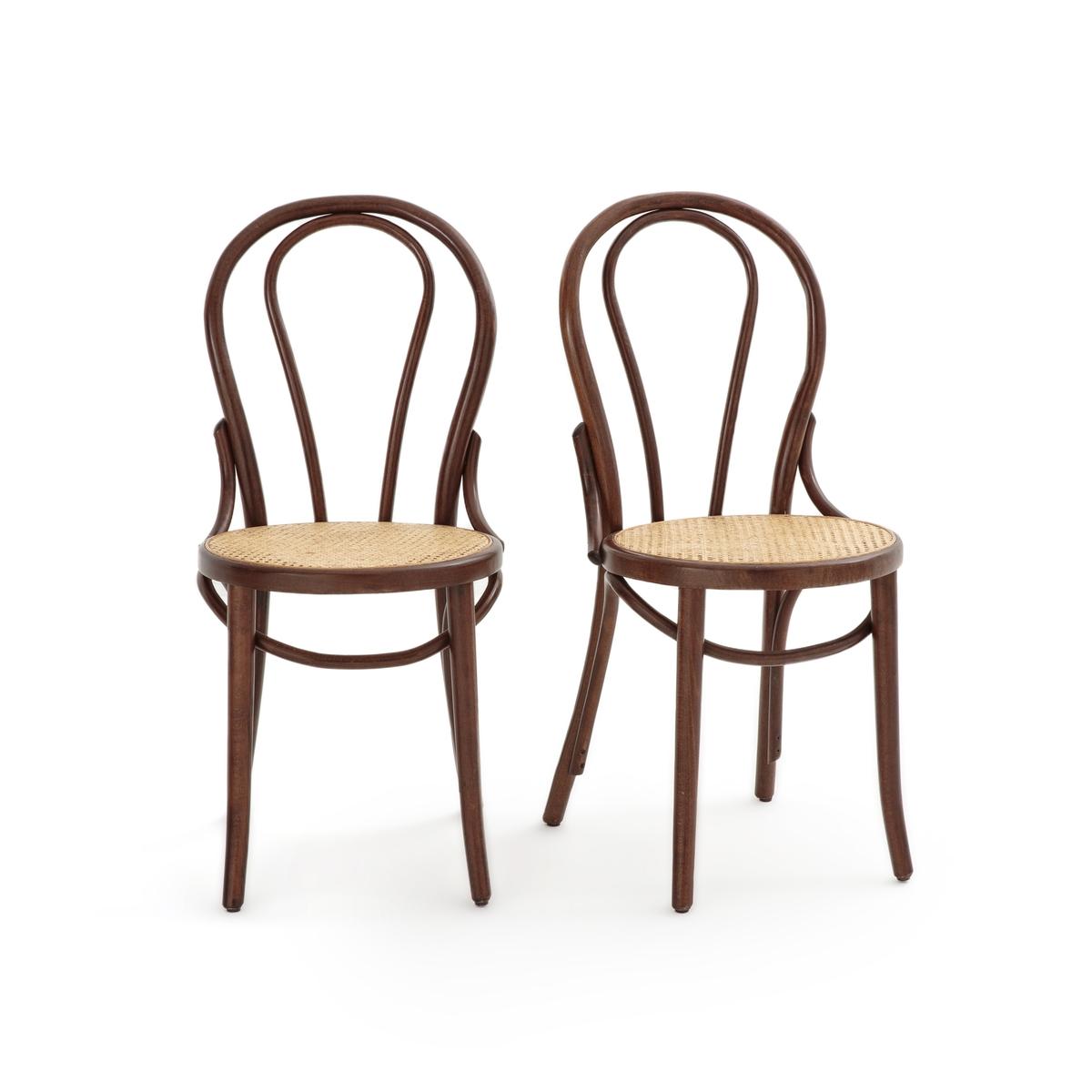 цена Комплект из стульев с La Redoute Плетеным сиденьем BISTRO единый размер другие онлайн в 2017 году