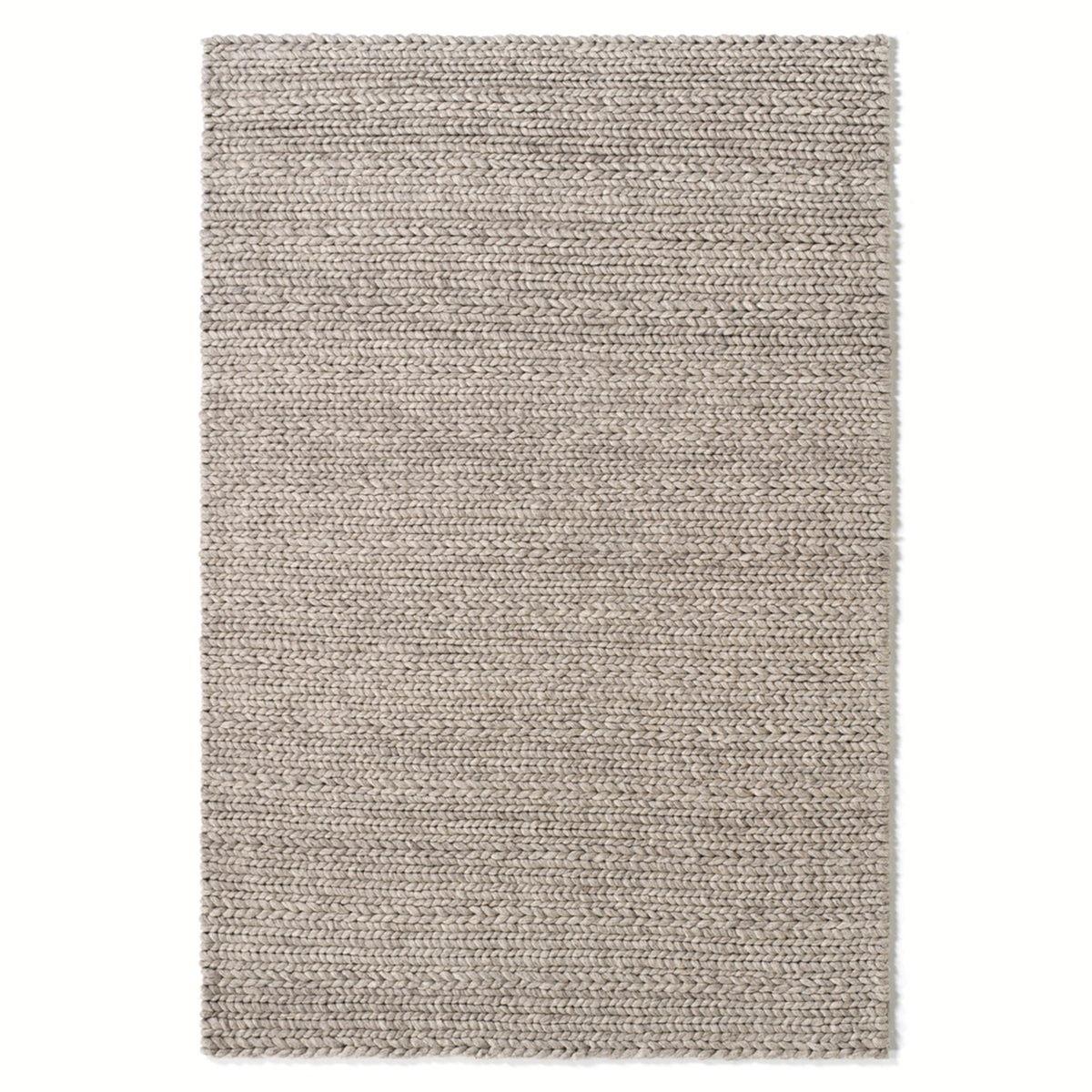 Ковер LaRedoute Из 100 шерсти Diano эффект вязки 200 x 290 см бежевый