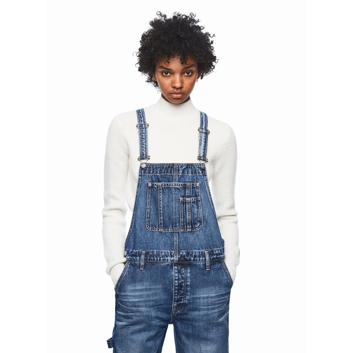 Комбинезон La Redoute Джинсовый M синий шорты la redoute la redoute m синий