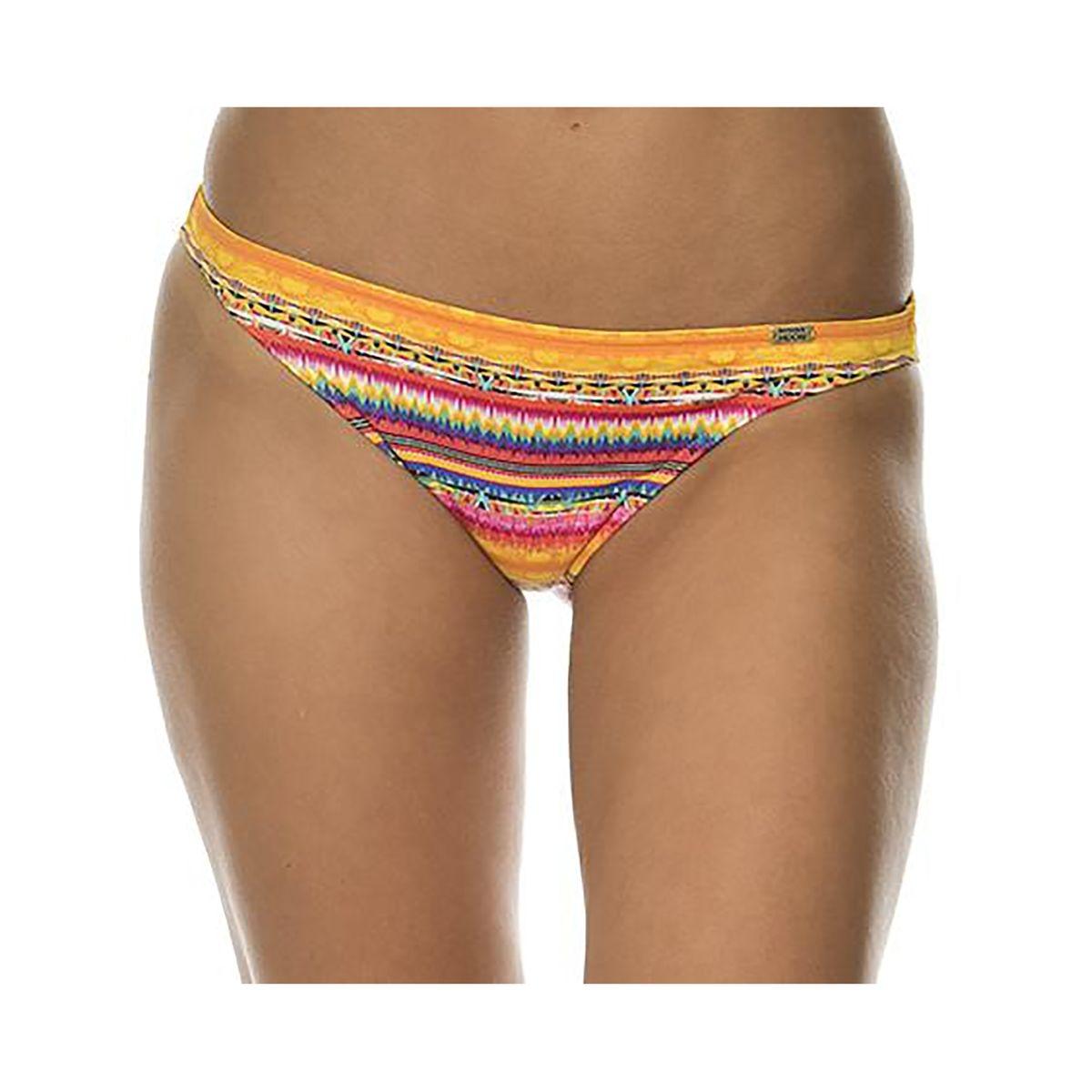Bas de maillot de bain culotte bikini imprimé