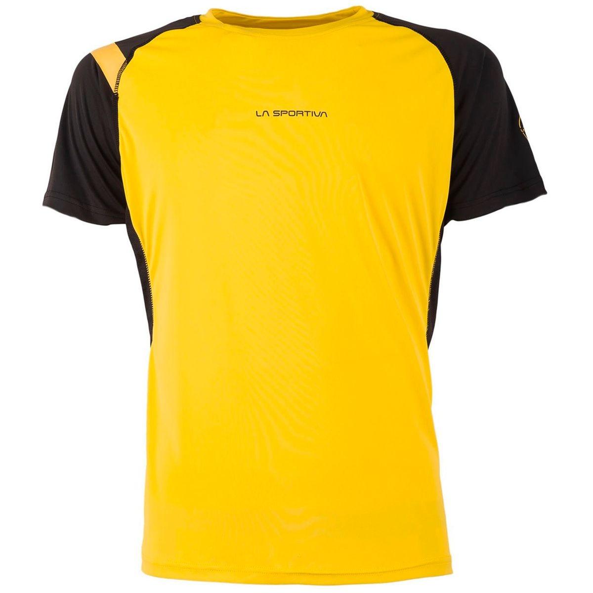 Motion - T-shirt manches courtes - jaune/noir