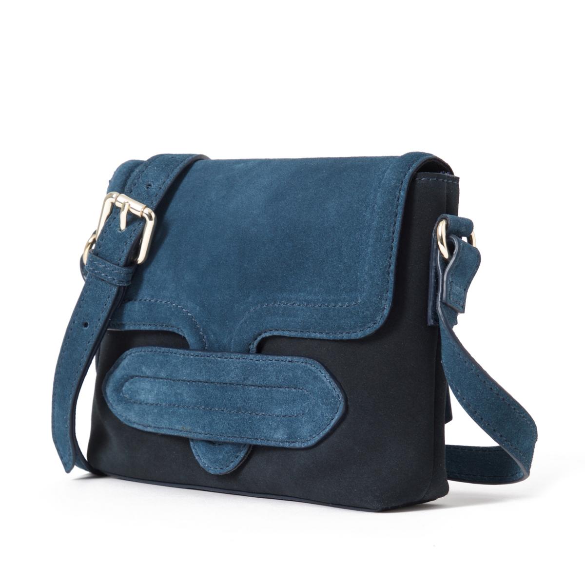 Клатч из невыделанной кожи, двухцветныйОписание:Очаровательная сумка-клатч из мягкой невыделанной кожи, стильный и оригинальный дизайн.Состав и описание : Материал : верх из невыделанной яловичной кожи             подкладка из текстиляРазмеры : L22XH17XP4 см Застежка : кнопка на магните 1 карман на молнииНесъемный регулируемый ремешок<br><br>Цвет: темно-синий/ синий,черный/ хаки<br>Размер: единый размер.единый размер
