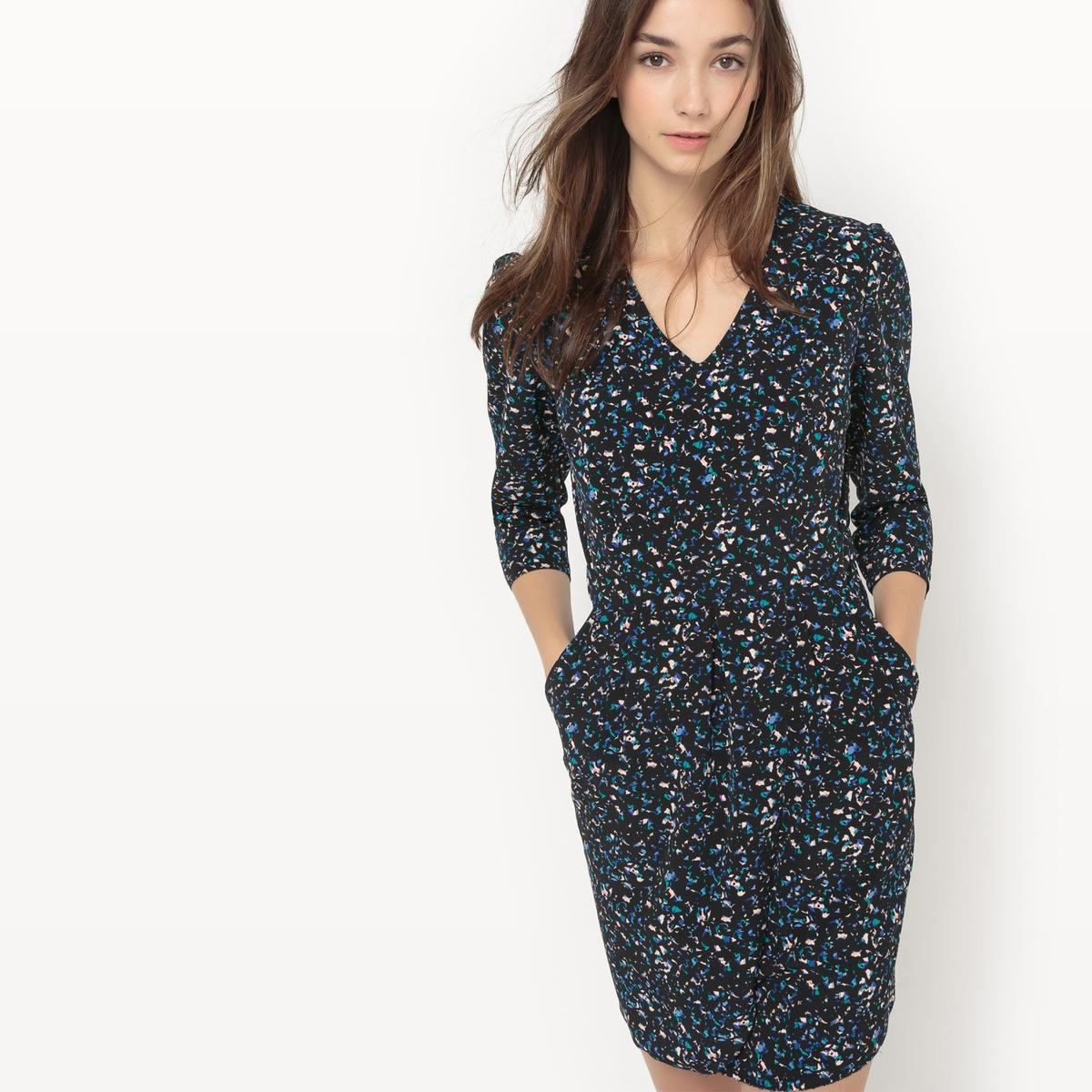 Платье с зернистым рисунком Chloé chloé бермуды