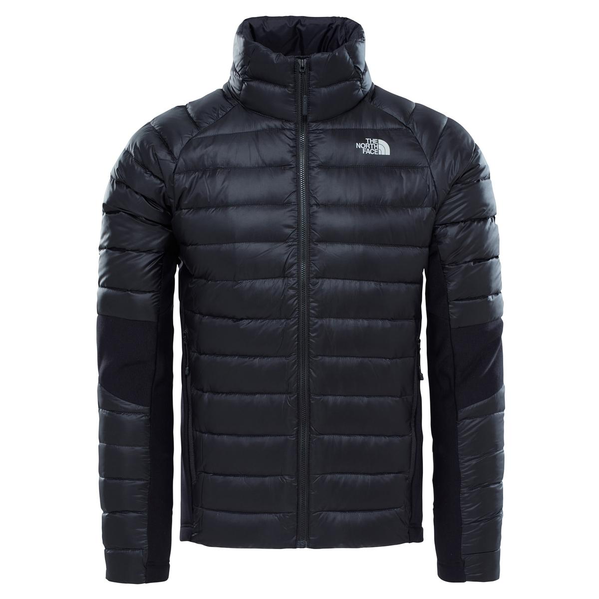 Куртка стеганаяДетали •  Длина : укороченная   •  Воротник-стойка •  Застежка на молниюСостав и уход •  100% полиамид  •  Наполнитель : 100% перо •  Следуйте советам по уходу, указанным на этикетке<br><br>Цвет: черный