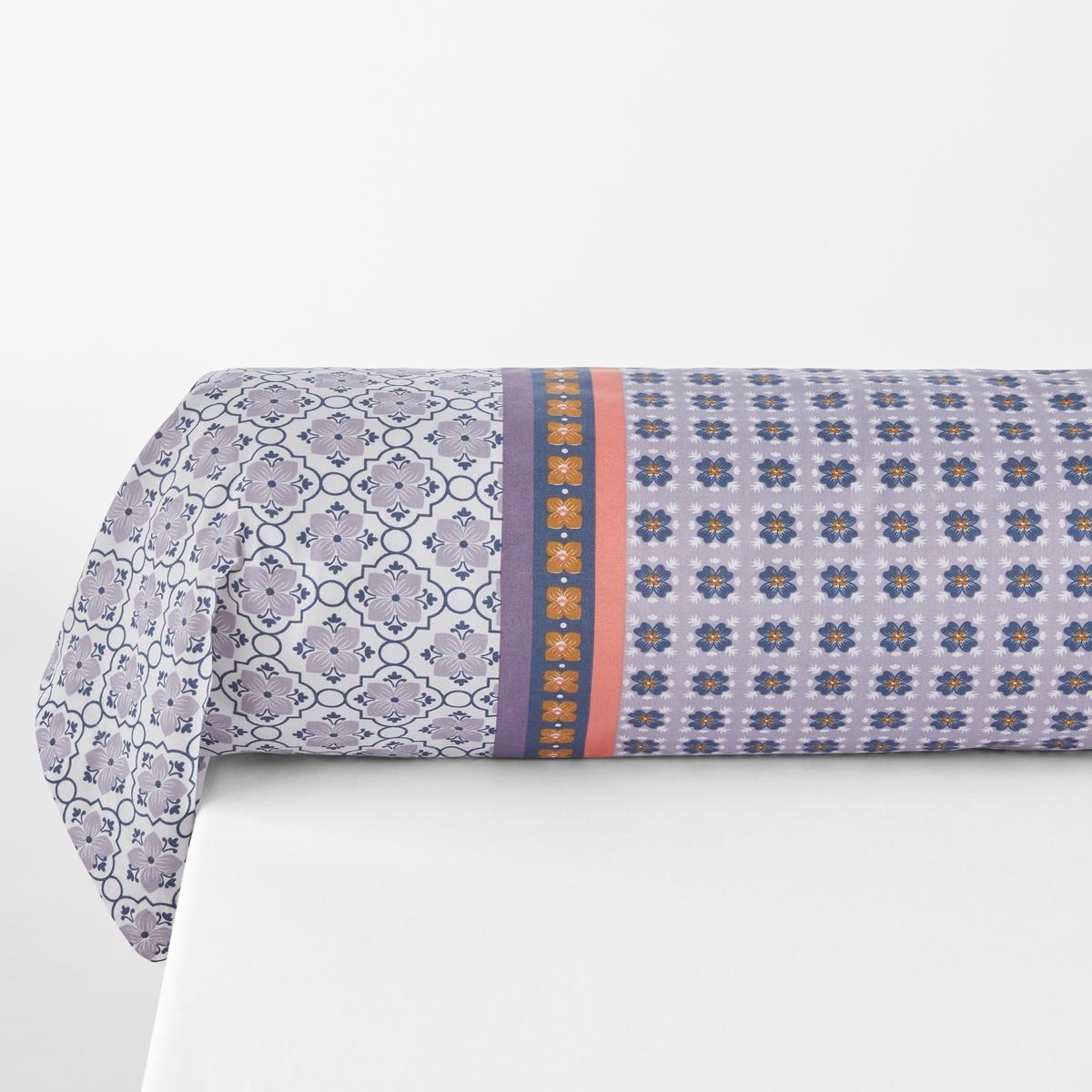 Наволочка на подушку-валик с принтом AMÉLIA