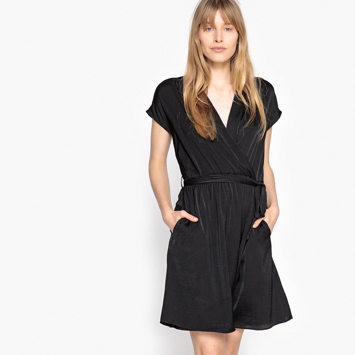 Платье в стиле кимоно с напуском платье в стиле кимоно 44