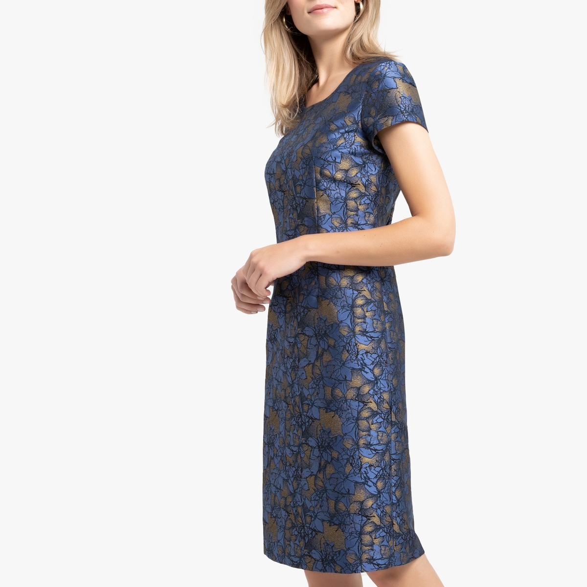 Платье La Redoute Прямого покроя 40 (FR) - 46 (RUS) синий gert kowarowsky der schwierige patient