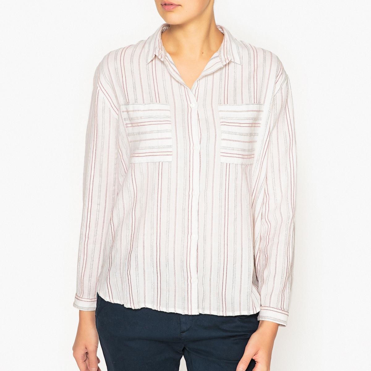 Рубашка с карманами CLAUDETTE рубашка harris wilson harris wilson ha019emqpi74