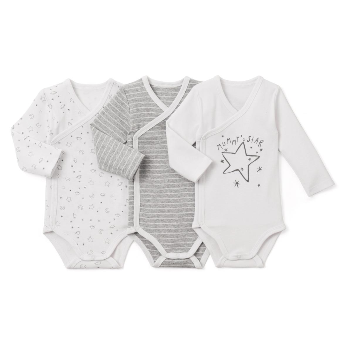 Комплект боди для новорожденного комплект для новорожденного 42 части quelle klitzeklein 735059