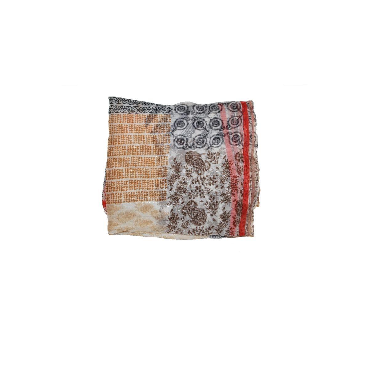 Foulard en viscose Fil textile imprimée - Paradoxe