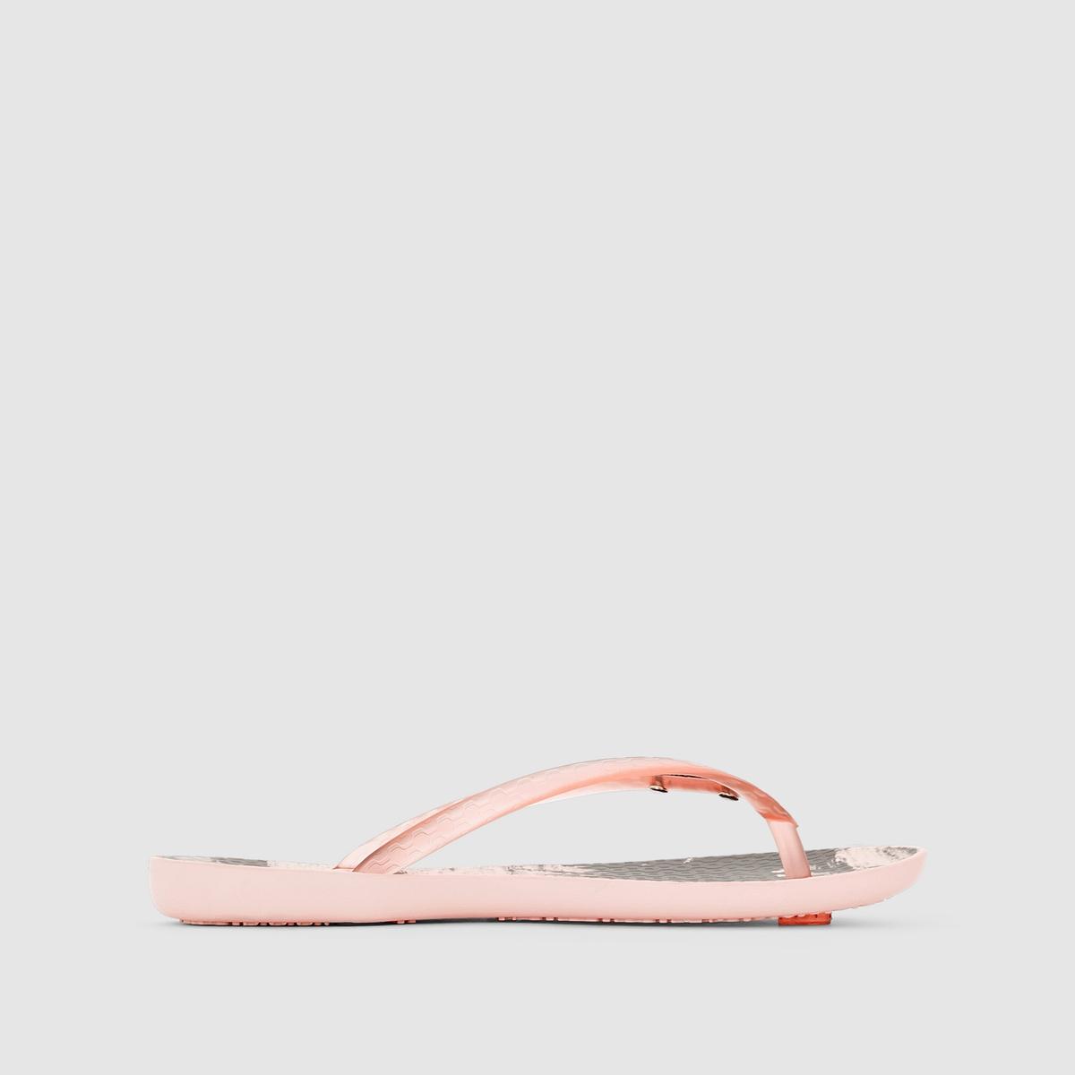 Вьетнамки Wave Tropical FemВерх/Голенище : каучук   Стелька : каучук   Подошва : каучук   Форма каблука : плоский каблук   Мысок : открытый мысок   Застежка : без застежки<br><br>Цвет: розовый
