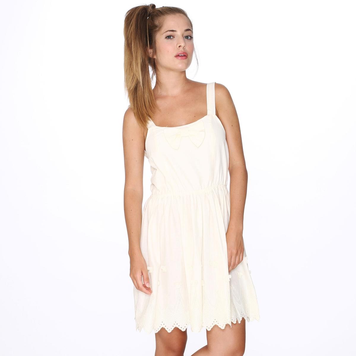 Платье без рукавов с открытой спинкой PEPALOVES, Dress IsabelСостав и описание :Материал : 100% хлопка.Марка : PEPALOVES<br><br>Цвет: бежевый,черный<br>Размер: M.M.S