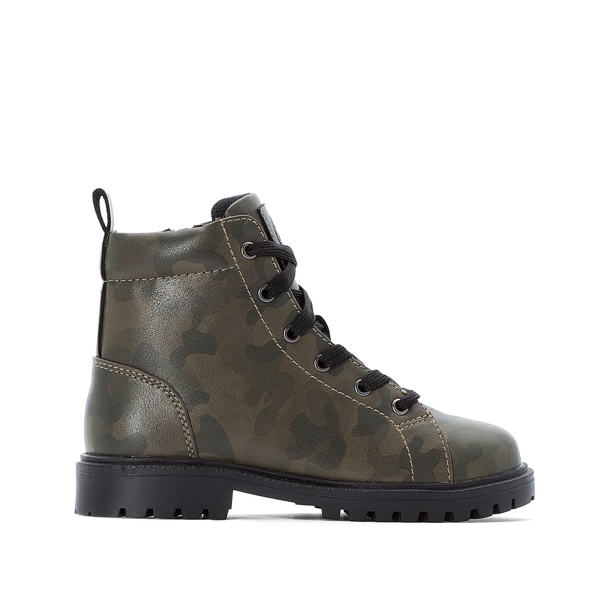 Ботинки La Redoute На шнуровке - 38 разноцветный ботинки la redoute на шнуровке 38 белый