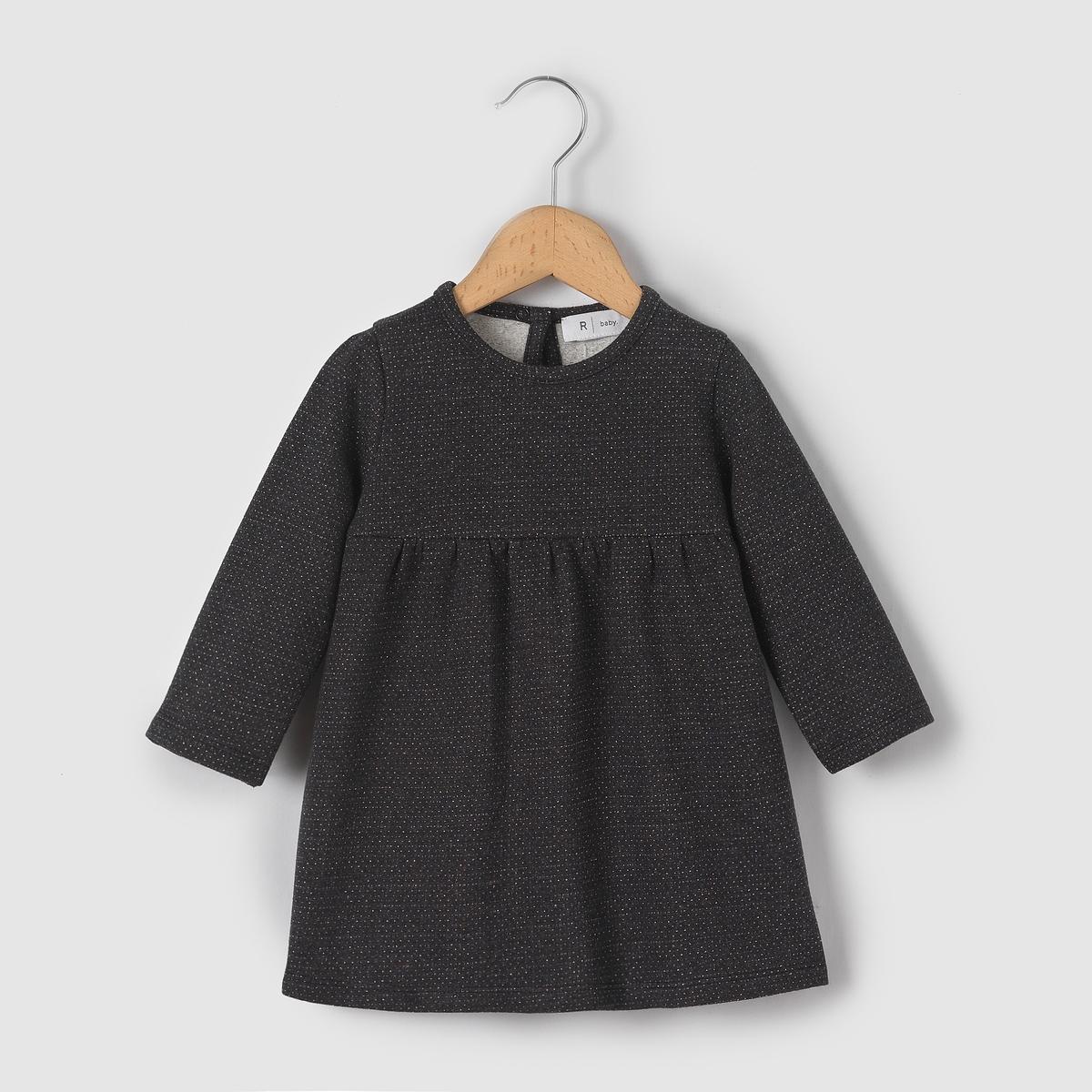 Платье в блестящий горошек 1 мес-3 лет