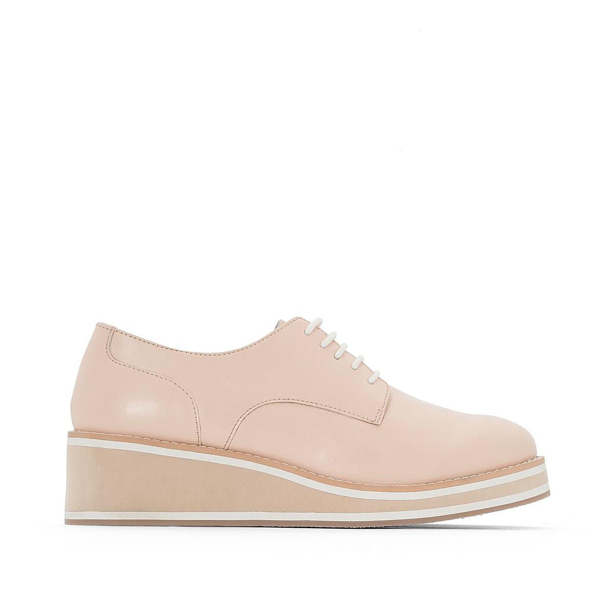 Ботинки-дерби кожаные ботинки la grandezza la grandezza la051awuzp39