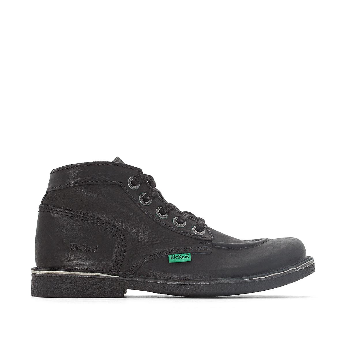 Ботинки кожаные на шнуровке, LEGENDIKNEW