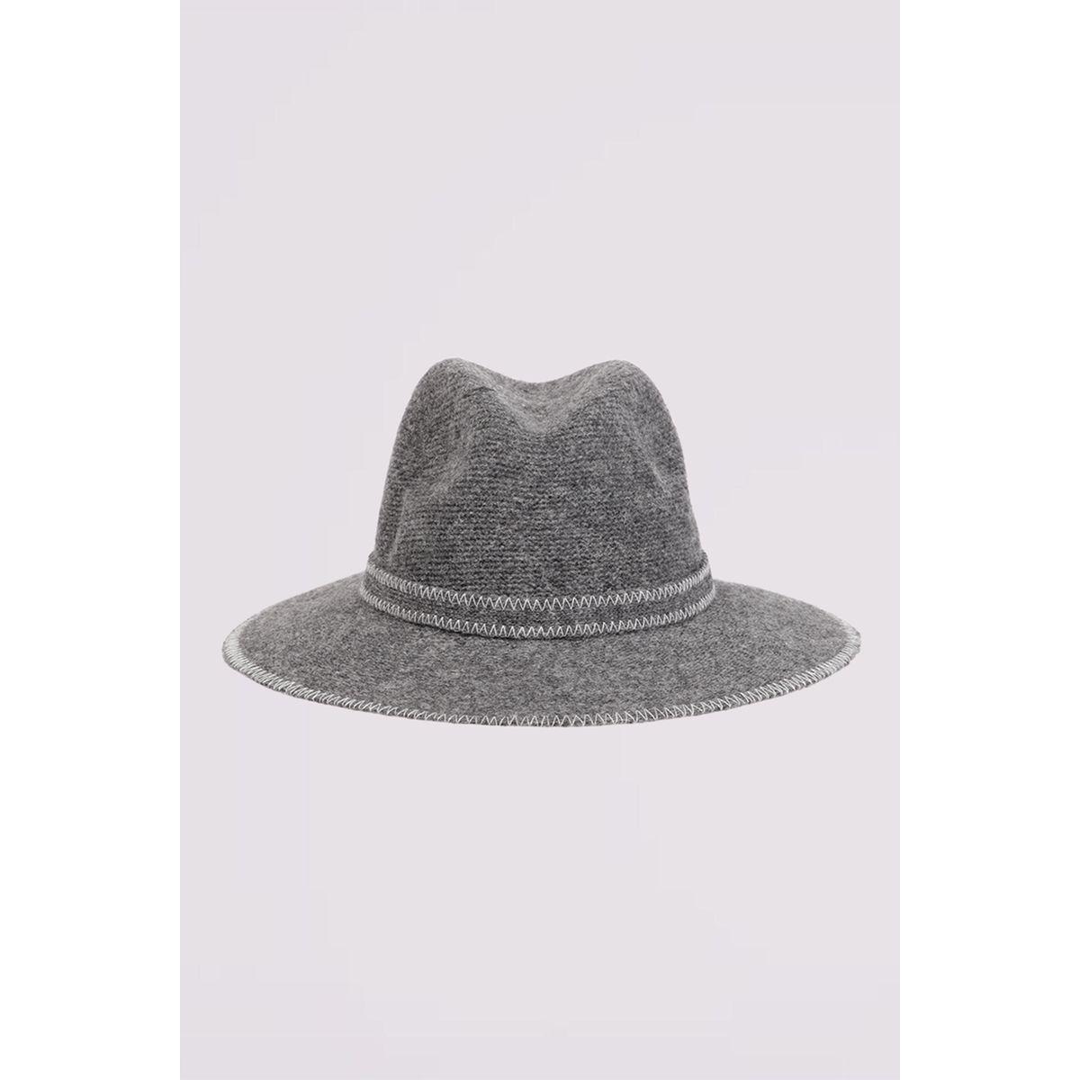 Chapeau détails bordures