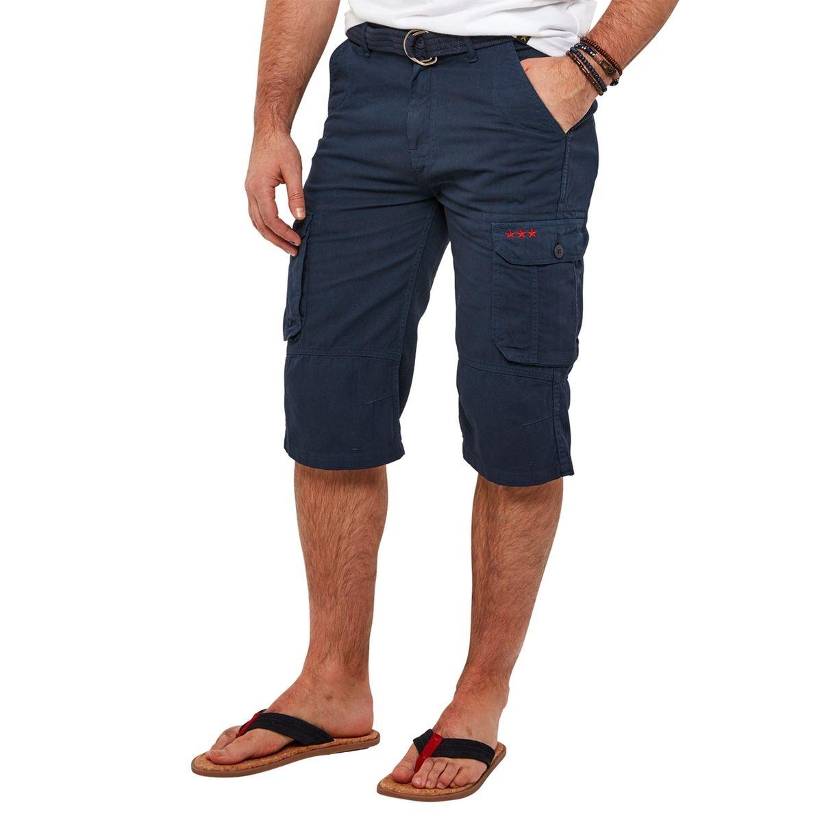 Short utilitaire avec ceinture