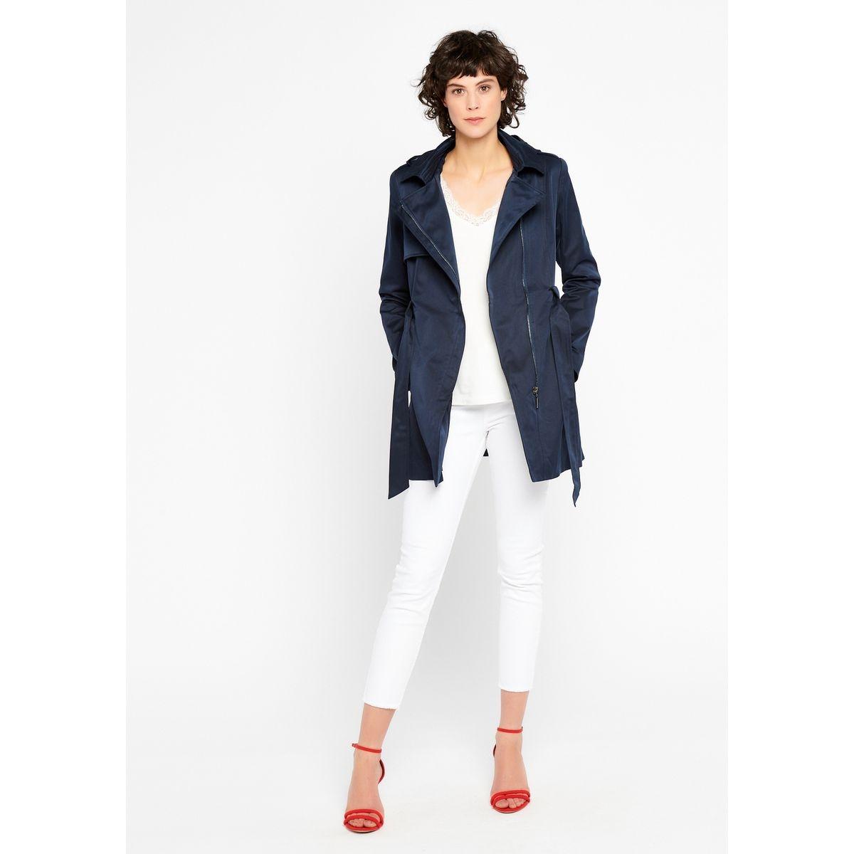 Trench coat avec capuche