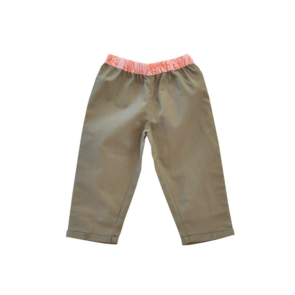 Pantalon chino Coton Bio