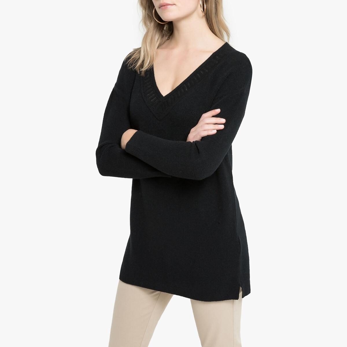 Пуловер-туника LaRedoute