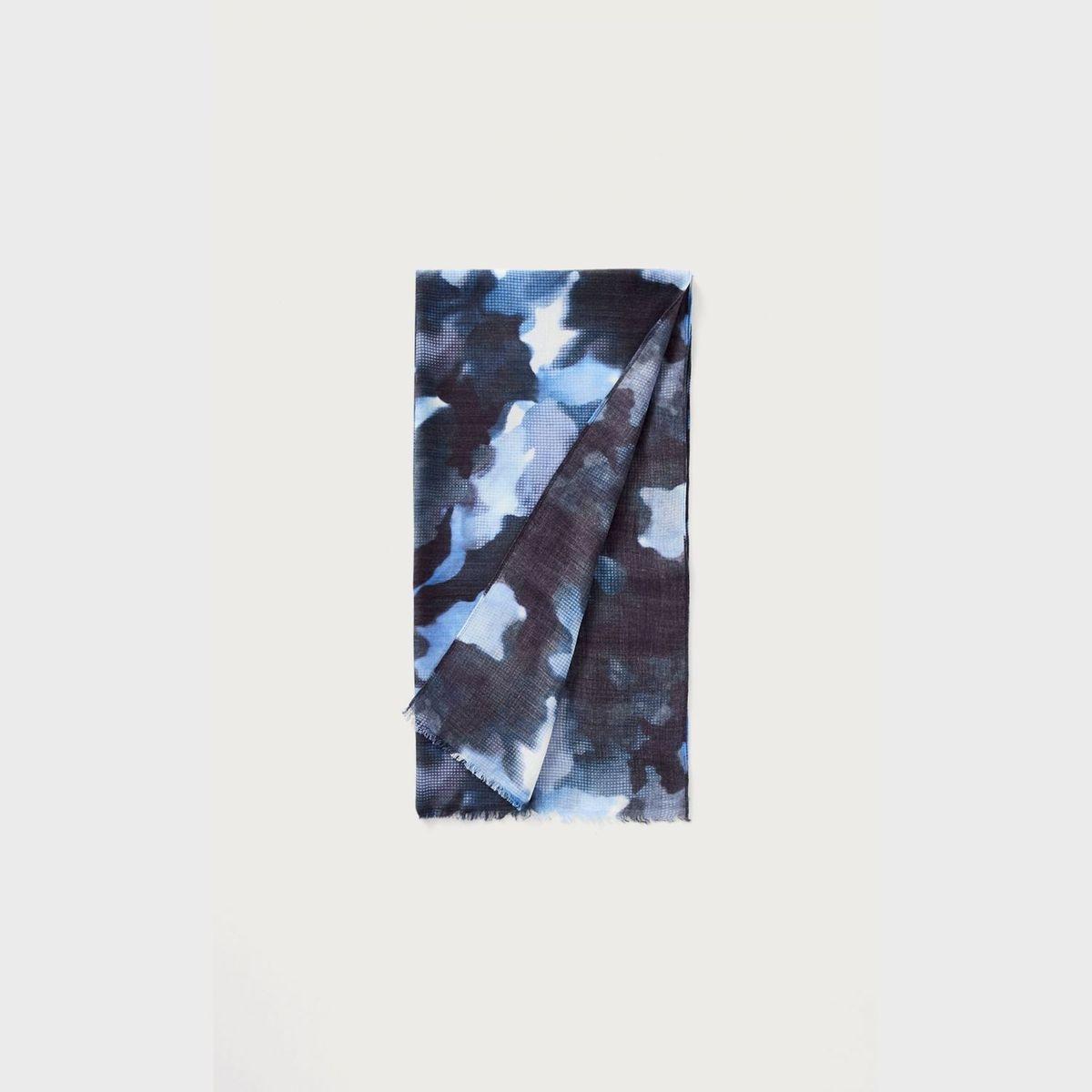 Écharpe   motif camouflage