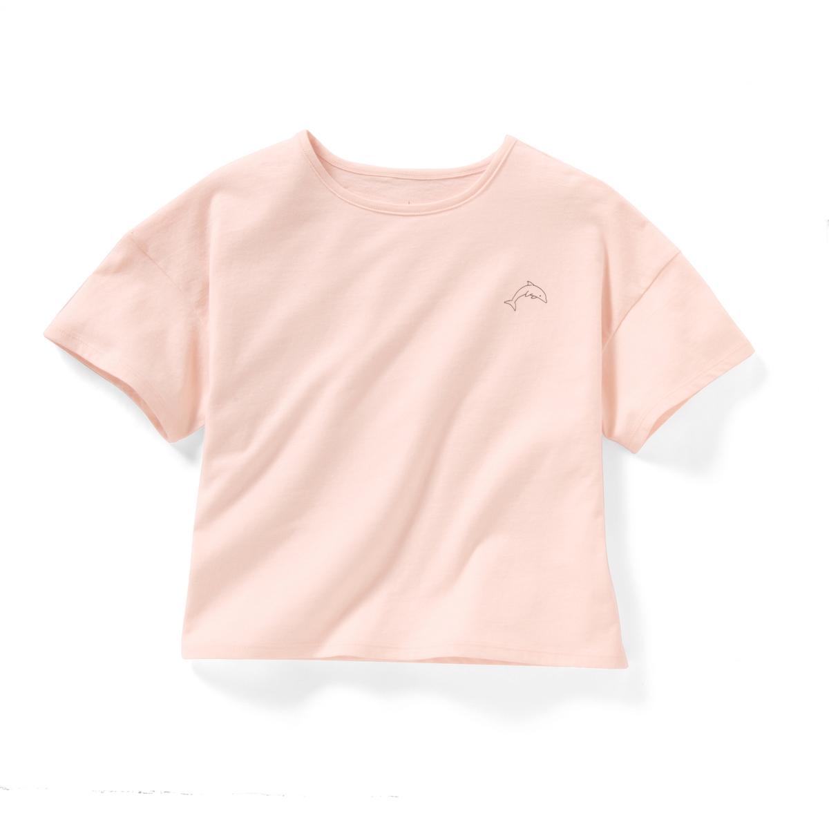 Комплект из 2 футболок с короткими рукавами, 10-16 летФутболки с круглым вырезом и рисунком спереди . 1 приталенная и 1 свободного покроя и укороченная . короткие рукава. Состав и описаниеМатериал      100% хлопокМарка      R ?ditionУходМашинная стирка при 30 °C с вещами схожих цветовСтирать и гладить с изнаночной стороныМашинная сушка при умеренной температуреГладить при низкой температуре<br><br>Цвет: Розовый + хаки<br>Размер: 10 лет - 138 см.16 лет.12 лет -150 см