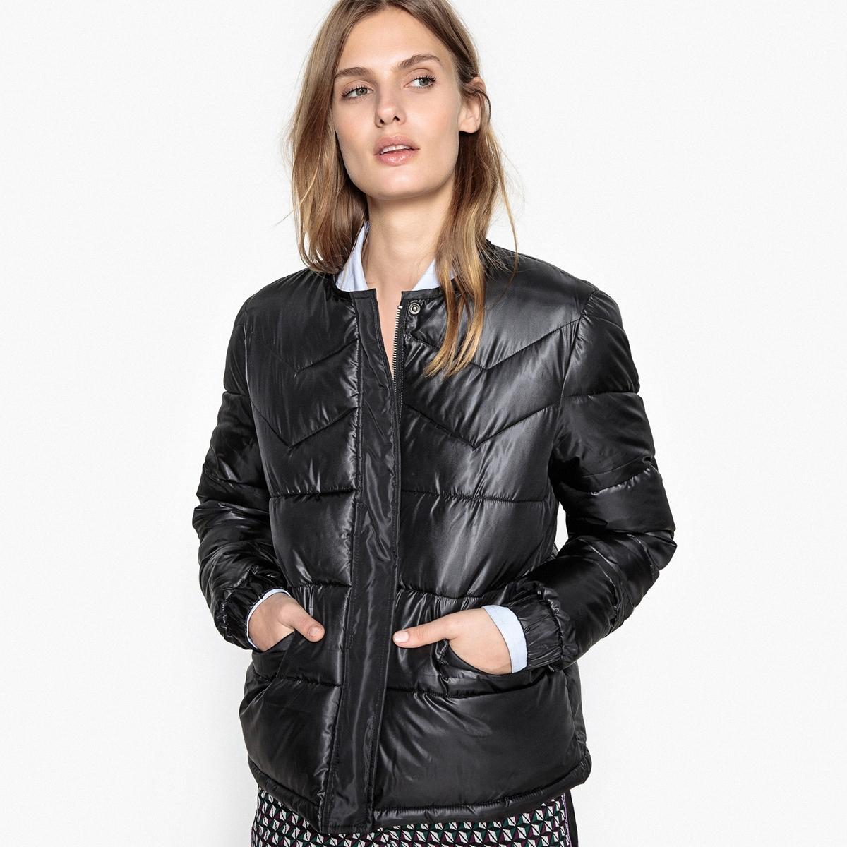 Куртка с круглым вырезом