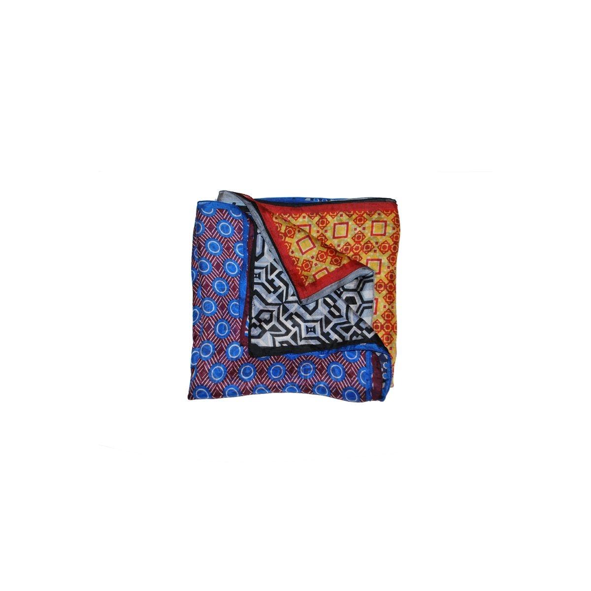 Echarpe en soie patchwork - Paraguay
