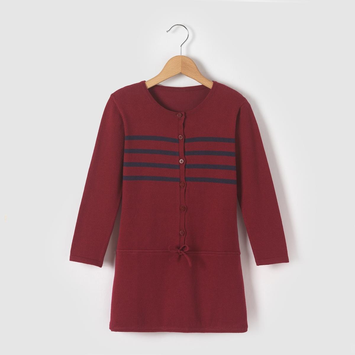 Платье-пуловер, 3-12 лет