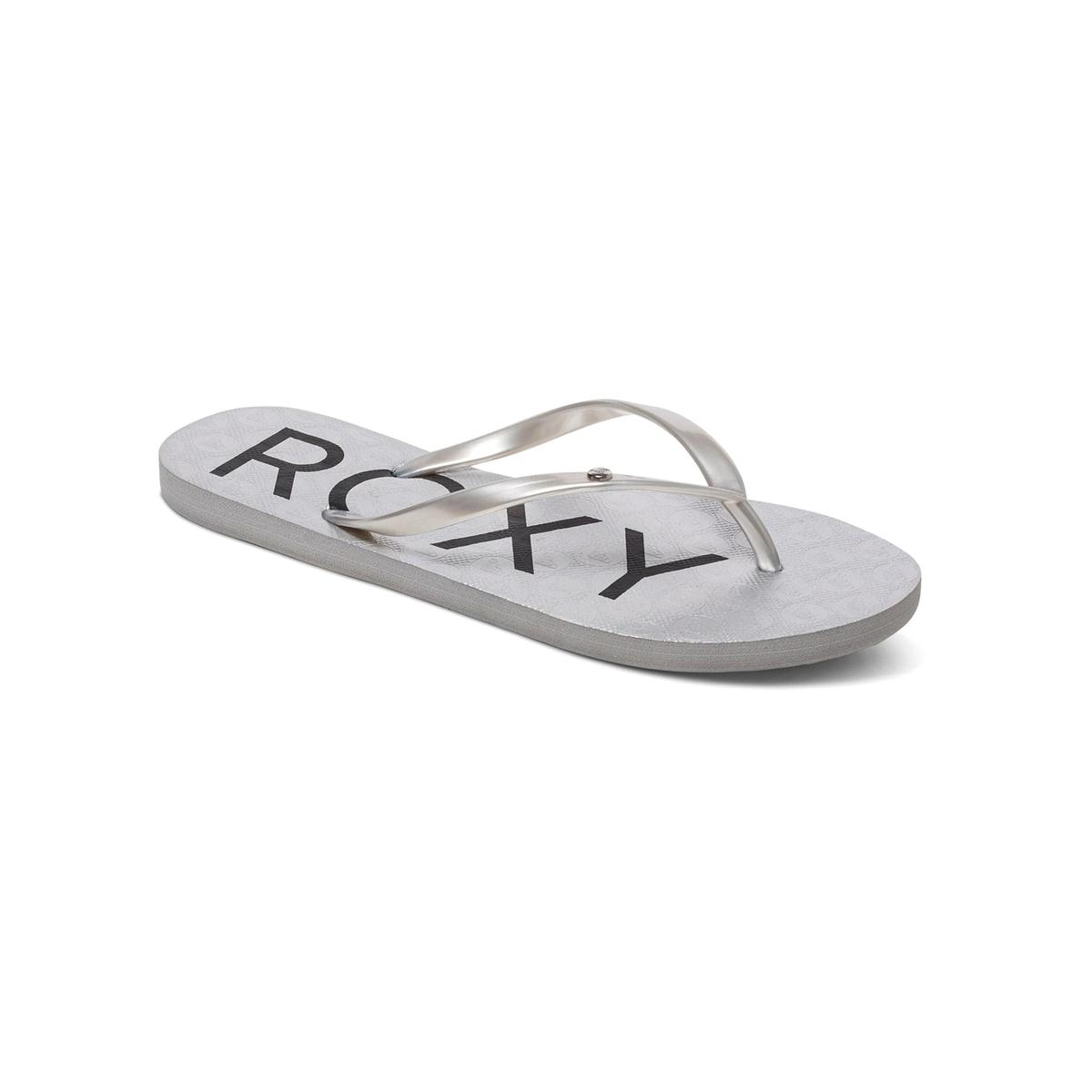 Вьетнамки SandyВерх : синтетика   Подошва : каучук   Форма каблука : плоский каблук   Мысок : открытый мысок   Застежка : без застежки<br><br>Цвет: серебристый