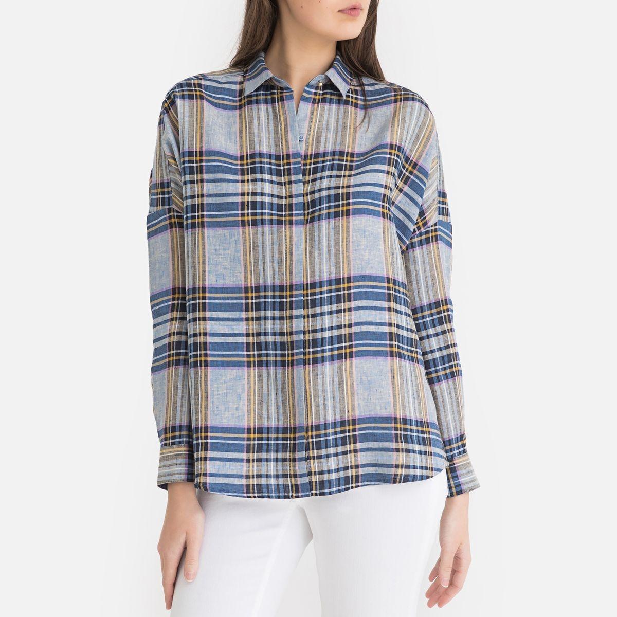 Chemise à carreaux DELIMA