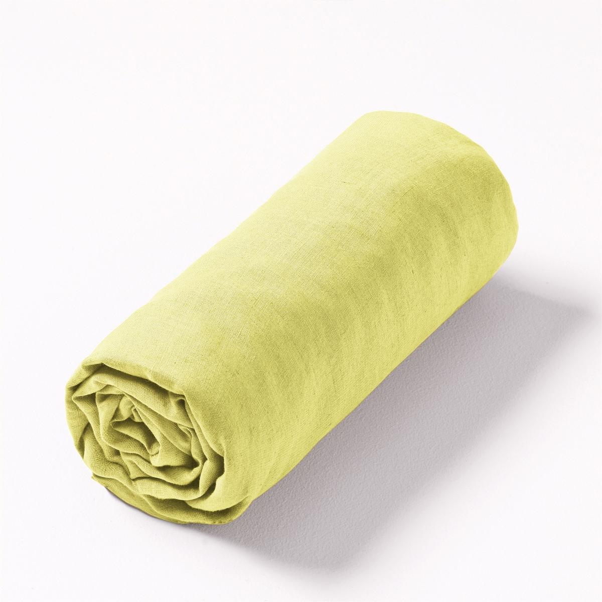Простыня натяжная из льна, CarlyНатяжная простыня Carly. Натяжная простыня из 100% льна с жатым эффектом для большей мягкости и современного вида, становится мягче и привлекательней с течением времени.Палитра утончённых и современных цветов позволяет создавать комплекты в монохромной гамме или в смелых цветовых комбинациях. Материал : - 100% ленУход:Машинная стирка при 40 °С.Размеры :90 x 190 см : 1-сп.140 x 190 см : 1-сп.160 x 200 см : 2-сп.180 x 200 см : 2-сп.<br><br>Цвет: серая известь,сине-черный,хаки светлый,ярко-желтый<br>Размер: 90 x 190  см.90 x 190  см.180 x 200  см.160 x 200  см
