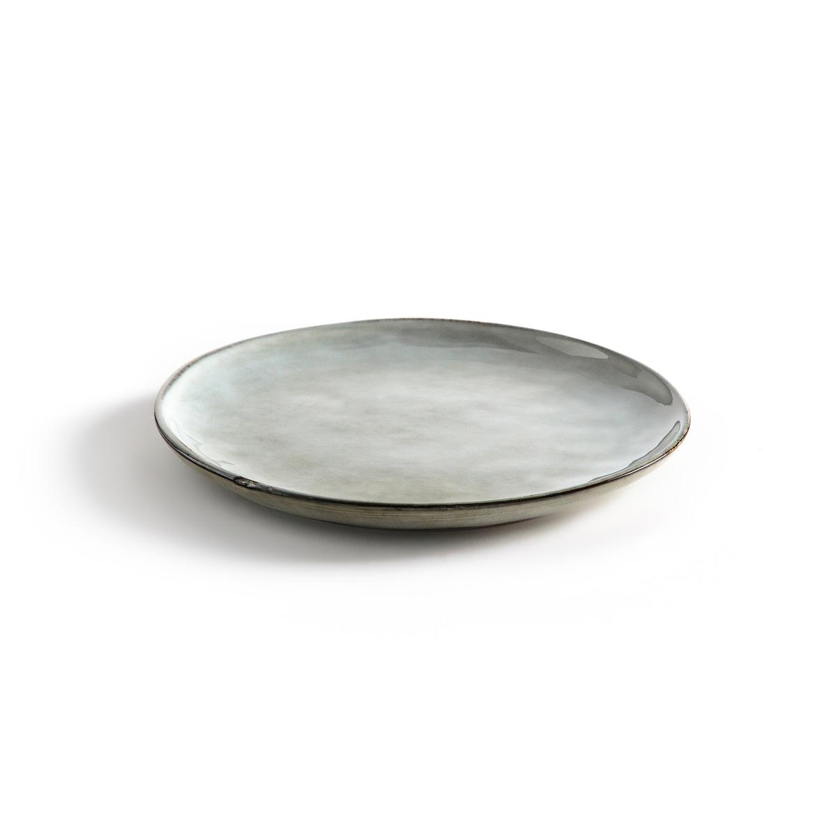4 тарелки десертные из керамики HorciagОписание:4 тарелки десертные Horciag . Красивый серо-зеленый цвет для стола в стиле дзен . Из керамики, покрытой глазурью. Подходит для посудомоечной машины и микроволновой печи . Размеры : диаметр 20 см. Найдите подходящие плоские тарелки на нашем сайте .<br><br>Цвет: серо-зеленый