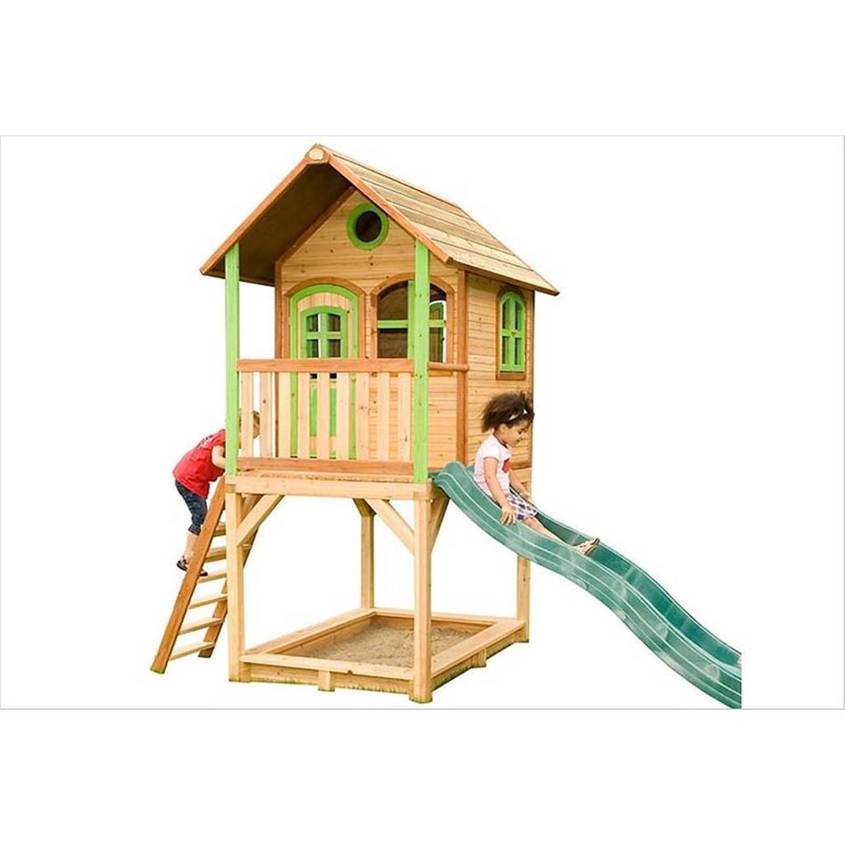 Haute cabane en bois enfant Sarah