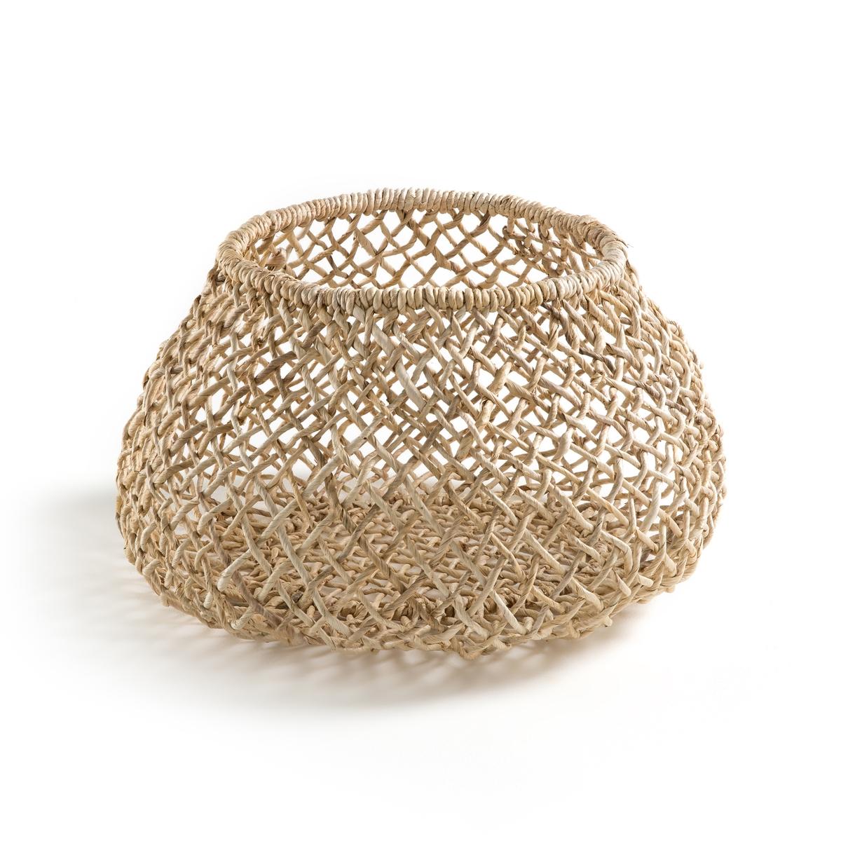 Корзина ручного производства из манильской пеньки, AfataКорзина Afata. Прозрачная и легкая. Можно использовать как кашпо или как корзину для хранения. Из плетеной  манильской пеньки. Произведено вручную. Размер : Ш.37 x В.37 x Г.37 см.<br><br>Цвет: серо-бежевый