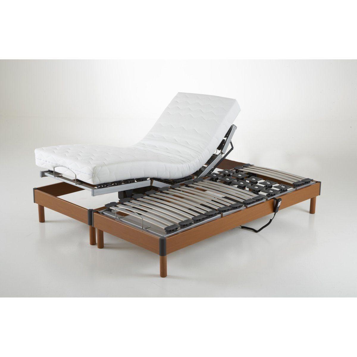 sommier de relaxation lectrique. Black Bedroom Furniture Sets. Home Design Ideas