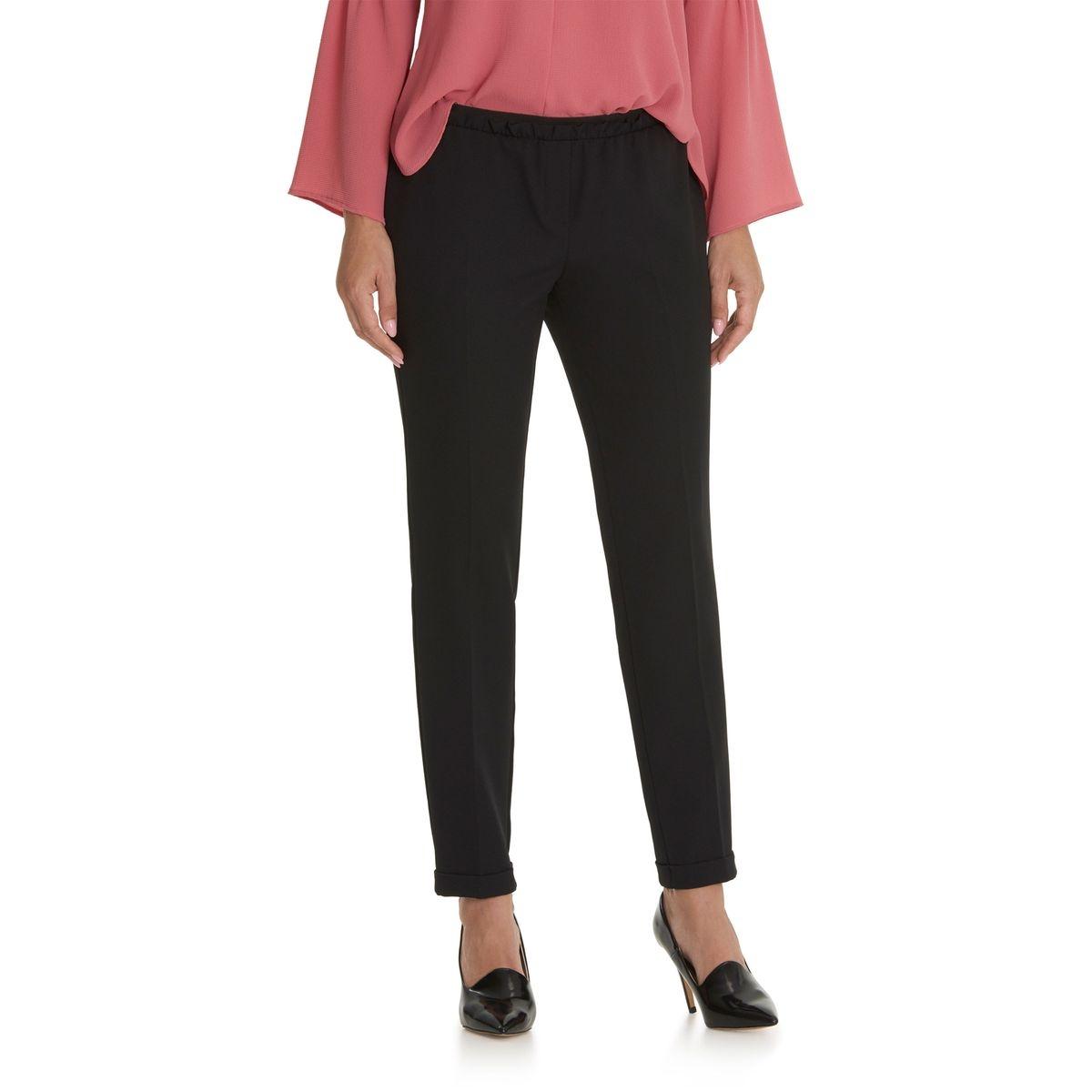 Pantalon avec ceinture élastique