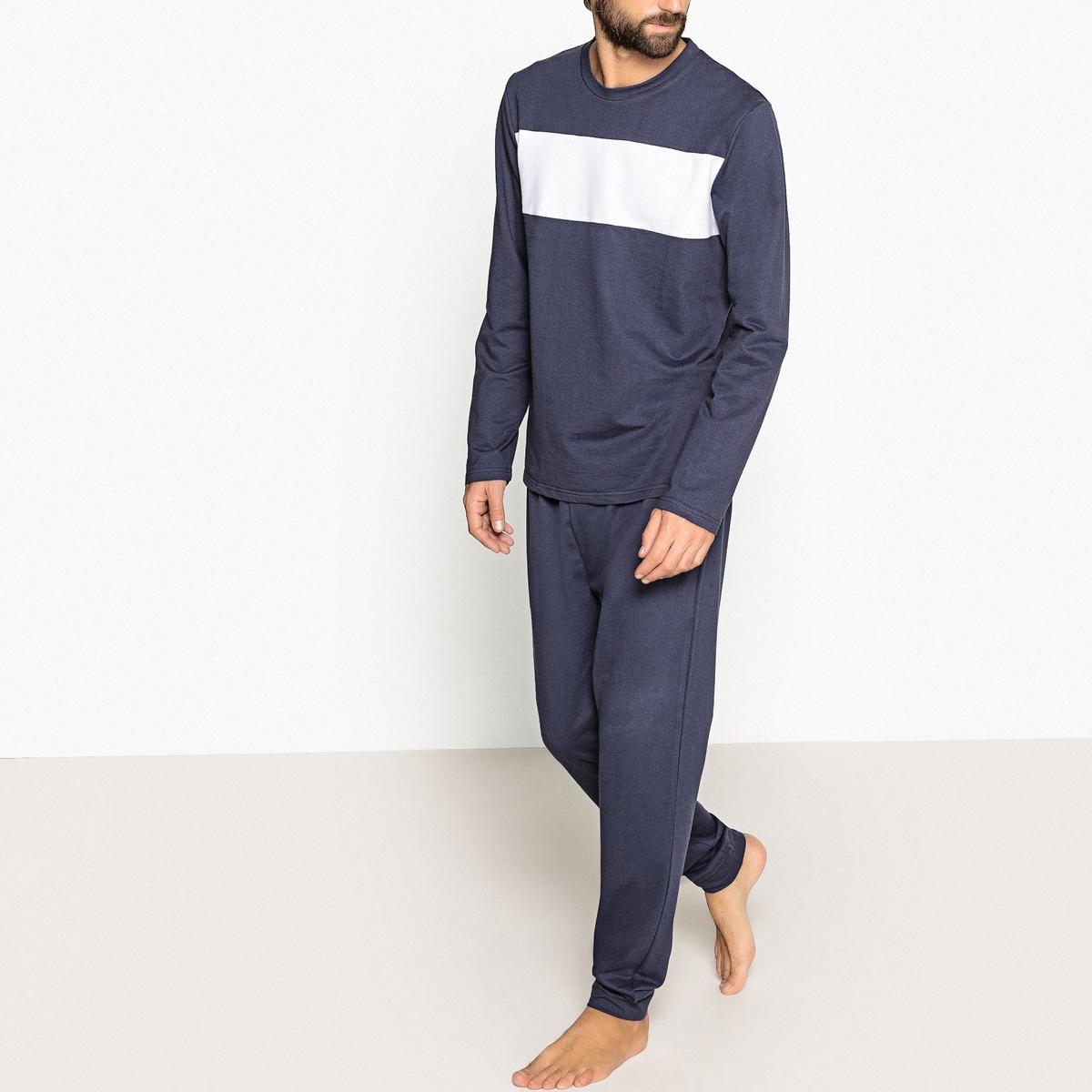 Пижама двухцветная из мольтона пижама