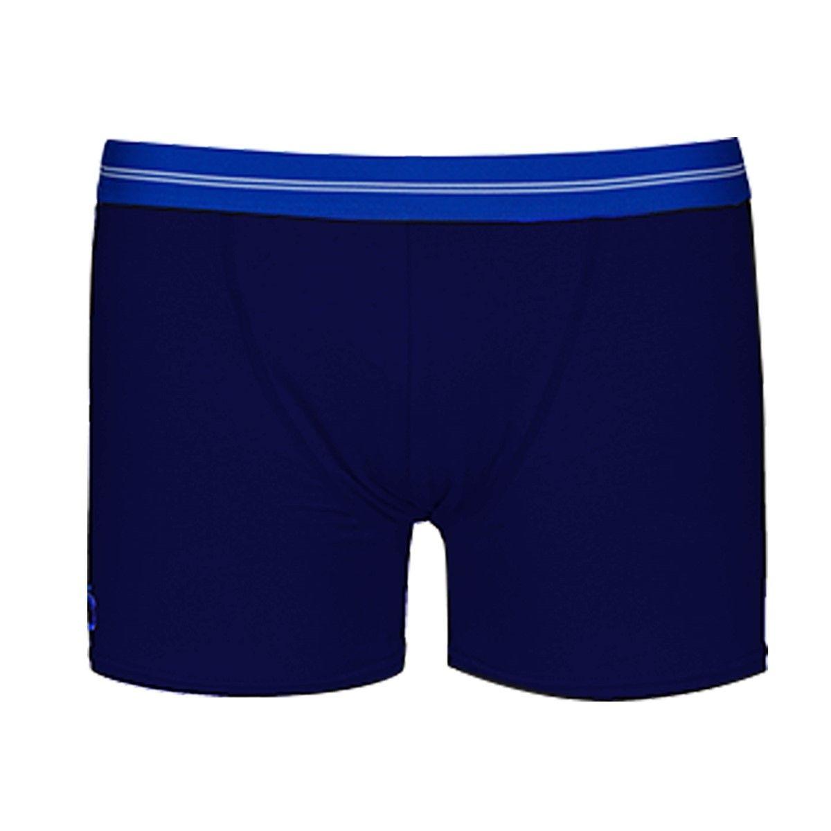 Boxer bleu marine