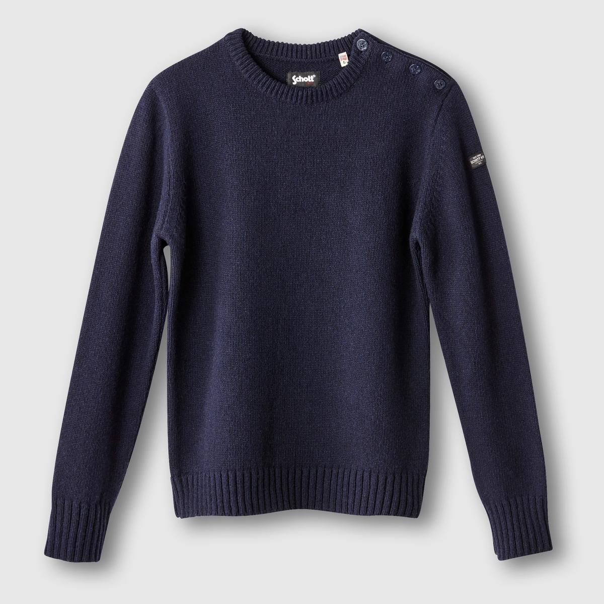 Пуловер крупной вязки от SCHOTT