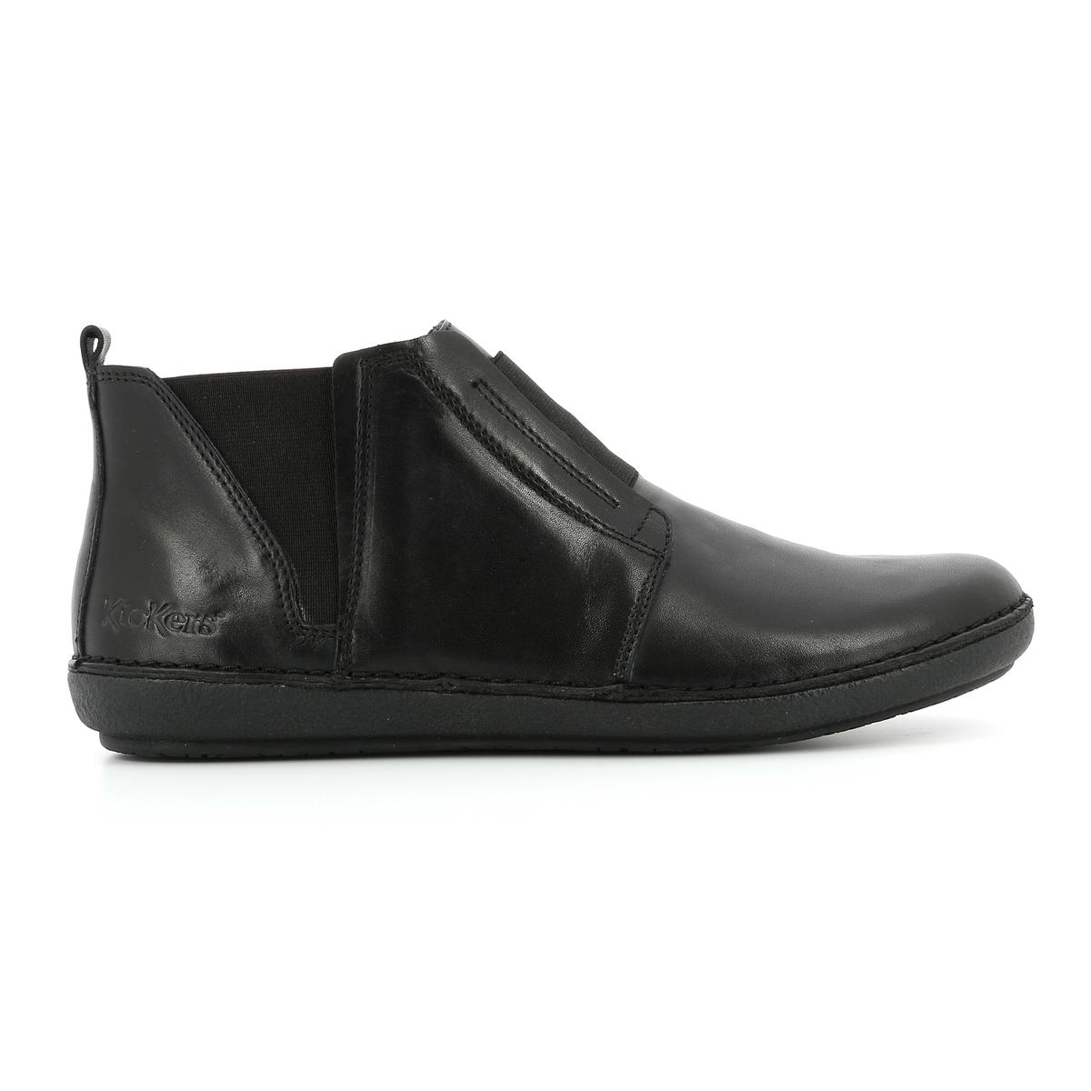 Imagen principal de producto de Zapatillas de caña alta de piel Fonzine - Kickers