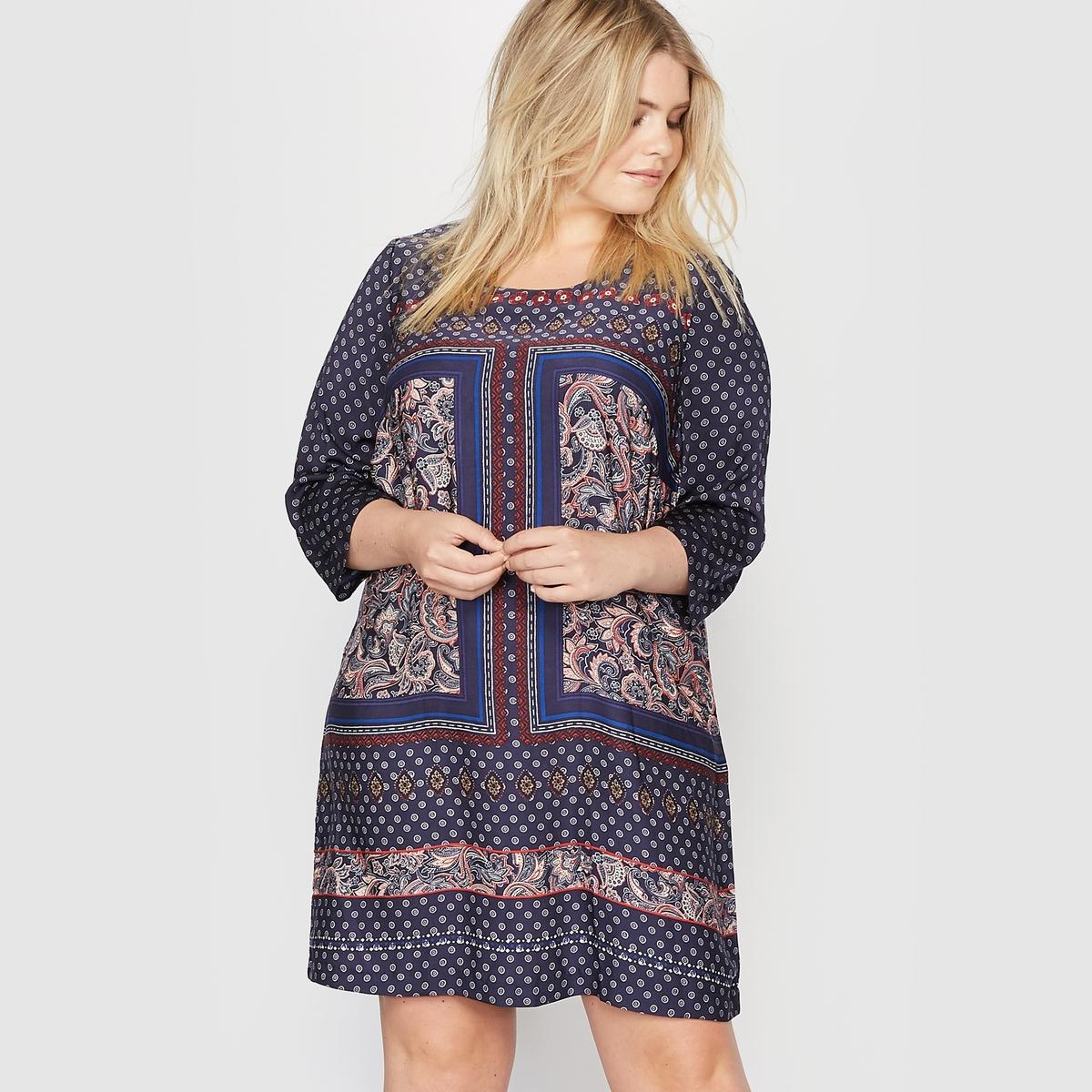 Платье с платочным рисунком платье с рисунком