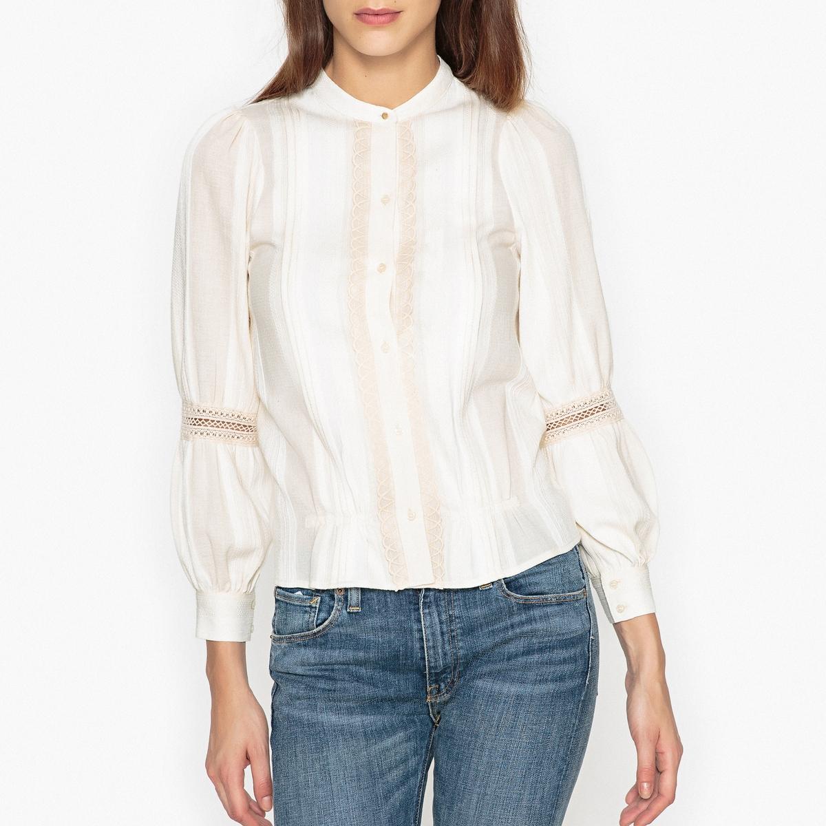 Блузка кружевная со складками NEUVILLE