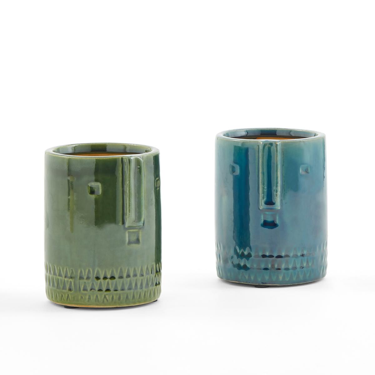 Кашпо из керамики, Ø15,5 см, Sakina