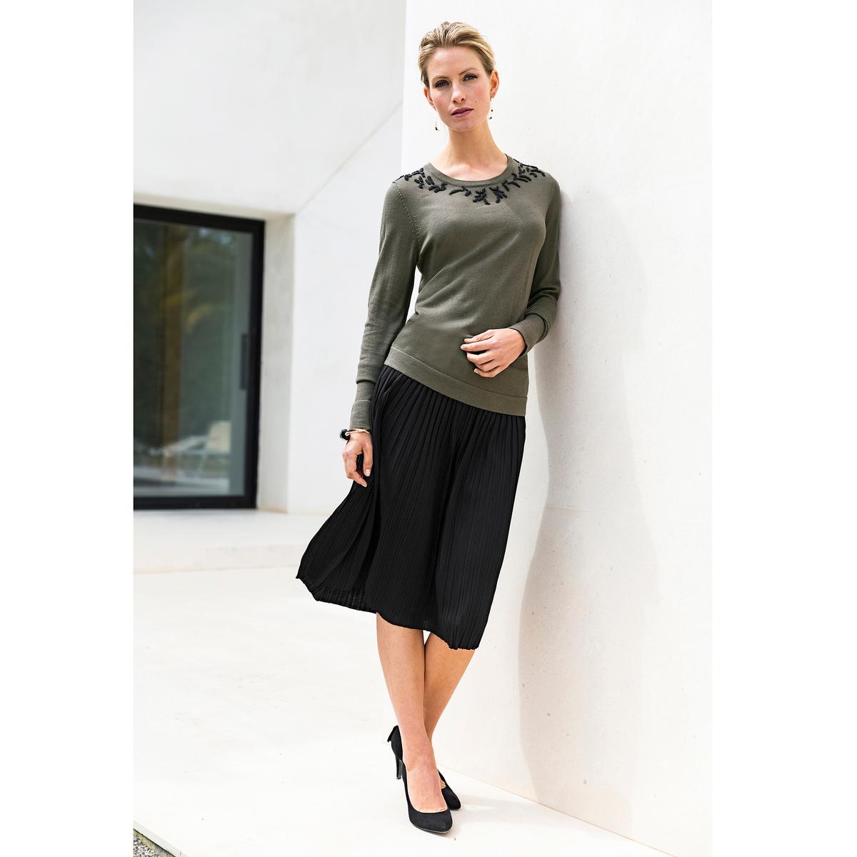 Imagen principal de producto de Falda plisada con largo por la rodilla - Anne weyburn