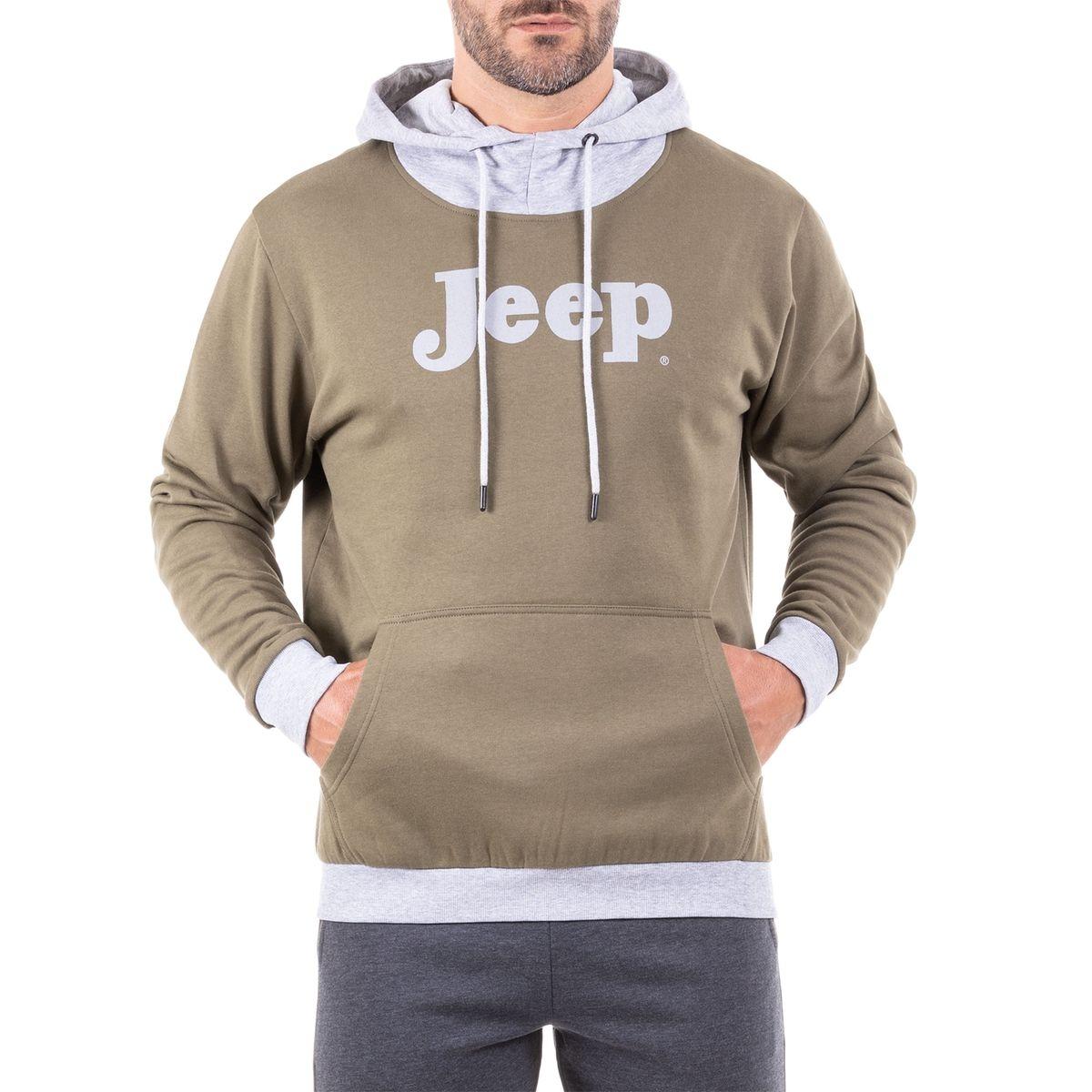 SWEAT SHIRT À CAPUCHE « VINTAGE JEEP » J8W