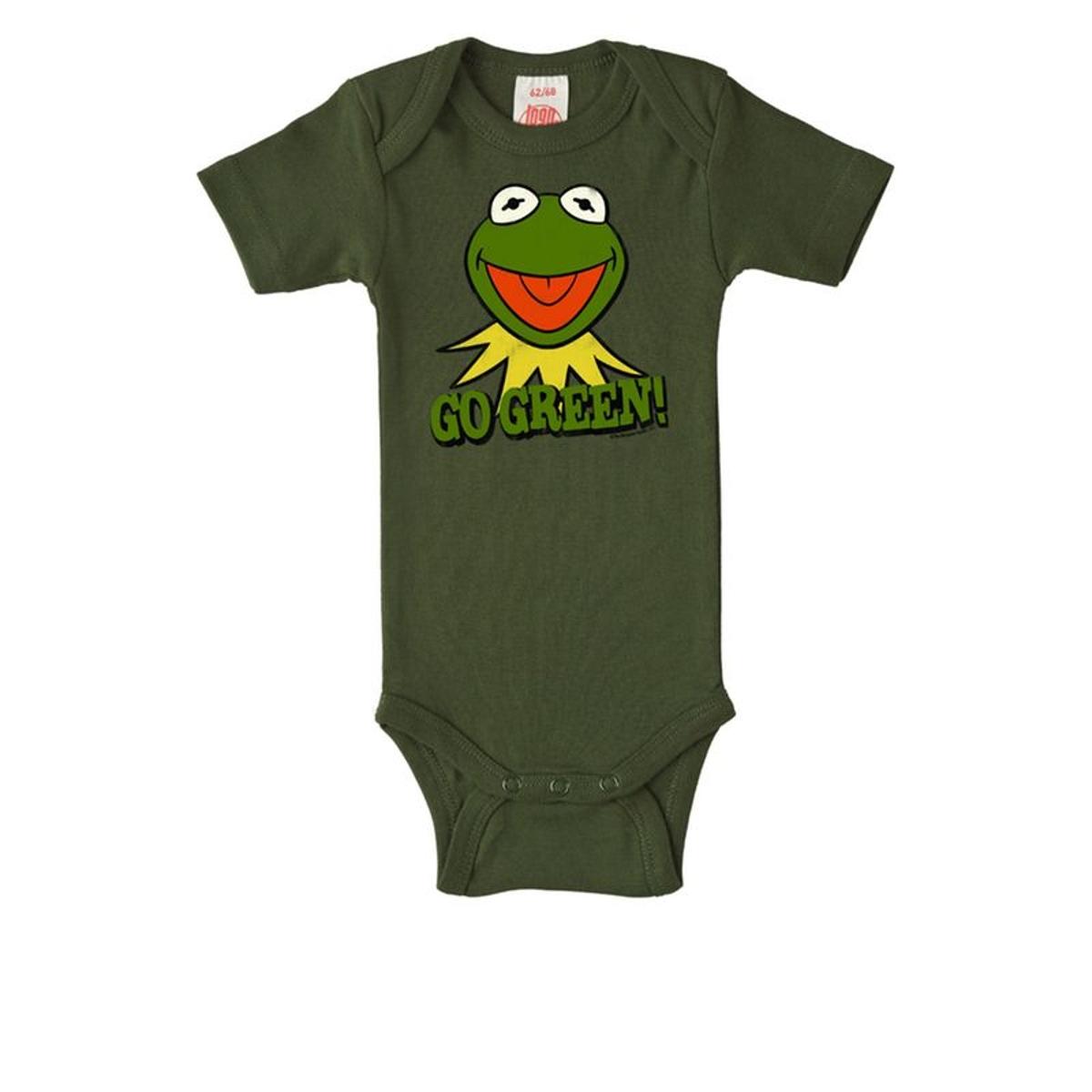 Body bébé Kermit la Grenouille - Muppet Show - Go Green -  vert olive