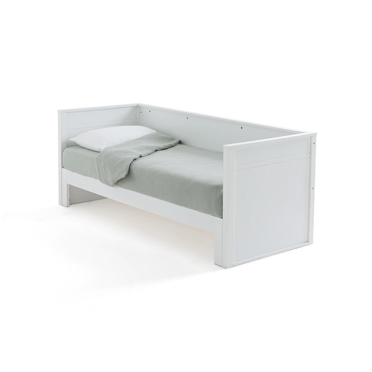 Диван-кровать LaRedoute С двойным спальным местом Leeds 160 x 200 см белый