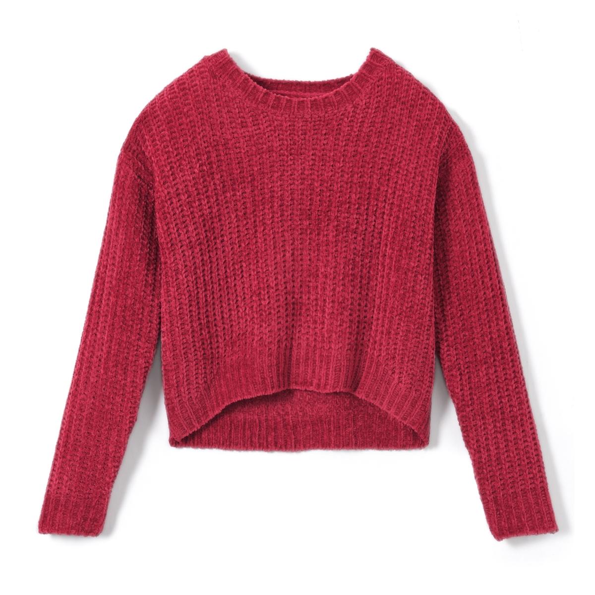 Пуловер из плотного трикотажа с круглым вырезом от La Redoute Collections